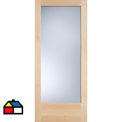 Puerta solida vania 1 luz 80x200 cm