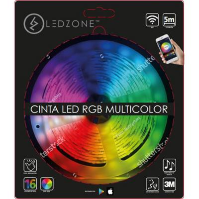 Cinta rgb multicolor wifi 5m