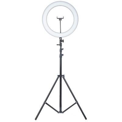Aro de luz 26 cm + trípode 180 cm carga usb