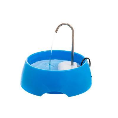 Dispensador de agua mascotas eléctrico azul