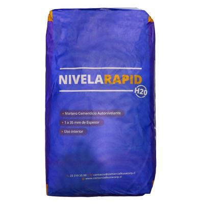 Mortero autonivelante Nivelarapid 25 kg