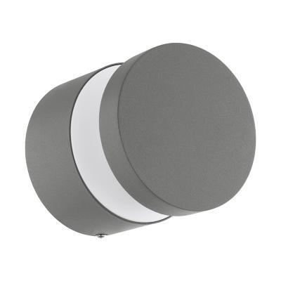 Apliqué aluminio plateado LED 1X11W