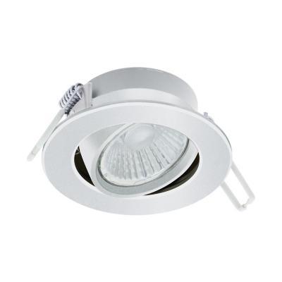 Foco embutido aluminio blanco LED 6W
