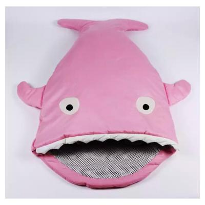 Saco de Dormir infantil Tiburón Rosado