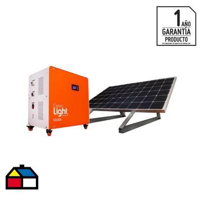 Generador eléctrico solar móvil 7200W - (600Ah)