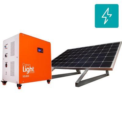 Generador eléctrico solar móvil 9600W - (800Ah)
