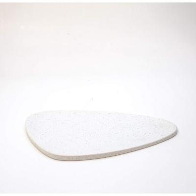 Fuente Cuarzo Sílice Blanco 40x22 cm