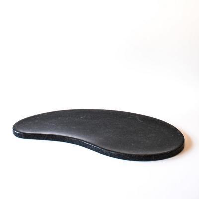 Fuente Cuarzo Ostra Negro 51x26x1,5 cm