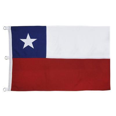 Bandera Chilena bordada 200x300 cm