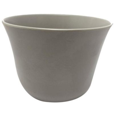 Set de 2 Maceteros Biodegradables Curvo Gris