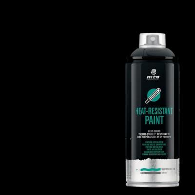 Spray pro alta temperatura negro 400ml