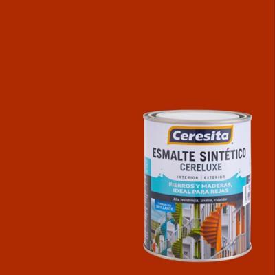 Esmalte sintético rojo mandarin 1/4 de galón