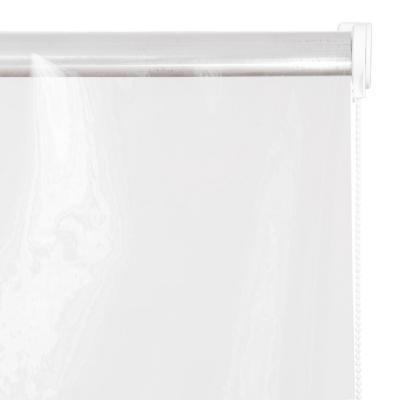 Cortina PVC Transparente Enrollable Con Instalación A La Medida Ancho Entre120,5 a 130 Cm Alto 100 a 125 CM