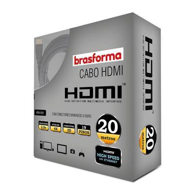 CABLE HDMI  2.0.V  4K - 3D Ready -  20 metros