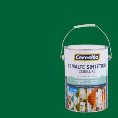 Esmalte sintético verde bosque 1 galón