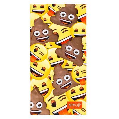 Toalla emoji poop 70x140 cm