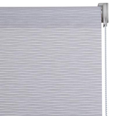 Cortina Velux Enrollable Con Instalación Gris  A La Medida Ancho Entre 30 a 100 Cm Alto 101 a 120 CM