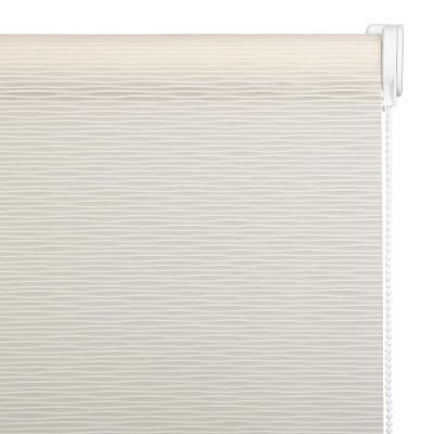 Cortina Enrollable Velux Crema Instalada  Ancho entre 301 cm a 320 cm Alto 30 cm a 100 cm