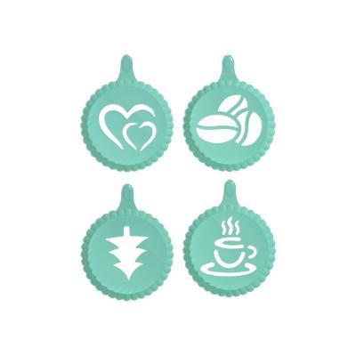 Set decorador para espuma de café