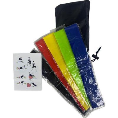 Set 5 bandas elásticas ejercicios multicolor