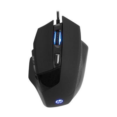 Mouse alámbrico gamer negro g200