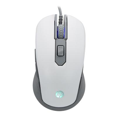 Mouse alámbrico hp gamer blanco