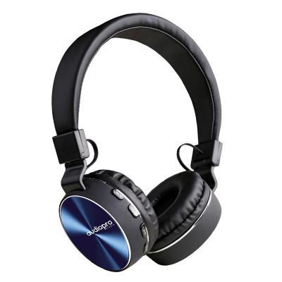 Audífono Headband Bluetooth FM/SD/AUX Azul