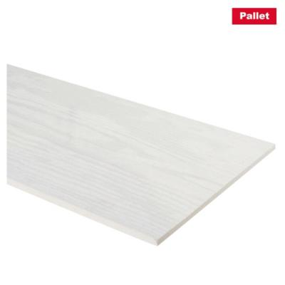 Pack 300 unid. de Siding fibrocemento 6mm 19x16 3.66m Natural