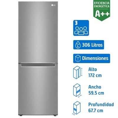 Refrigerador no frost 306 litros