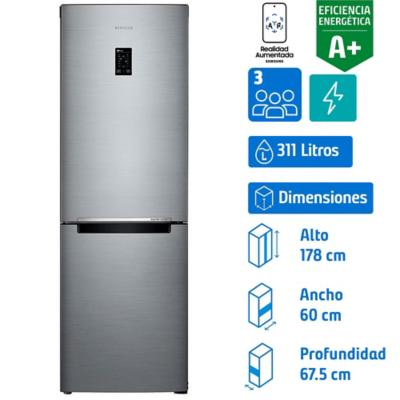 Refrigerador no frost bottom 311 litros