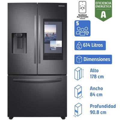 Refrigerador french door 614 litros