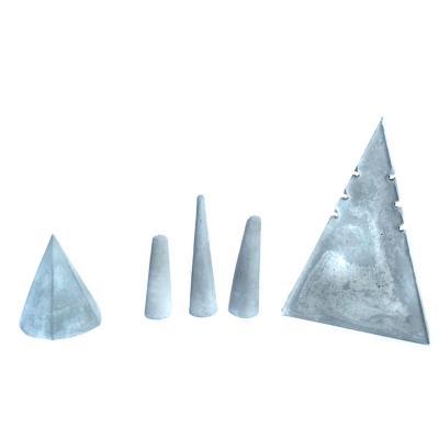 Set de porta joyas Geométrico Concreto