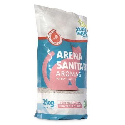 Arena Aglutinante Aroma Rosas 2 Kg