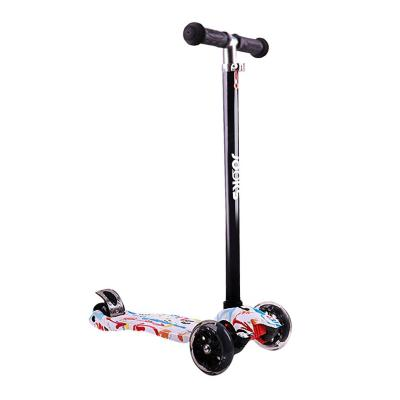 Scooter Monopatín Ajustable Light Wheels Blanco