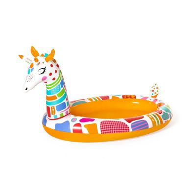 Piscina inflable de jirafa para niños
