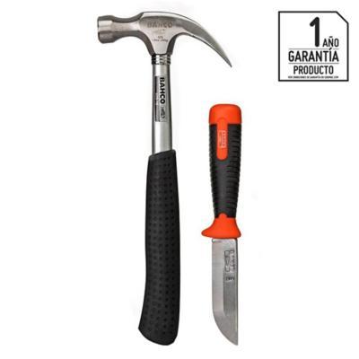 Set martillo16oz + cuchillo carpintero