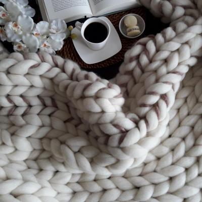 Piecera tejido XXL Queen Taupe 70x150 cm
