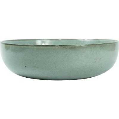 Bowl 18 cm celeste cerámica