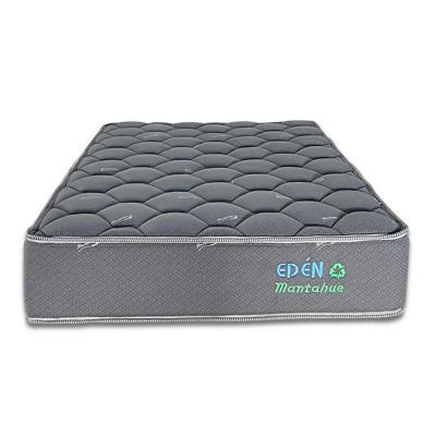 Colchón poliuretano gris 1,5 plaza