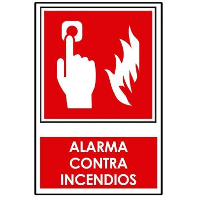 Señalética Alarma Contra Incendios