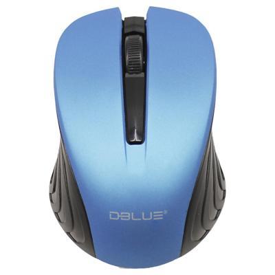 Mouse Inalámbrico 800DPI USB Azul