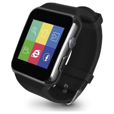 Smartwatch WIFI/Cámara 0,3M Negro