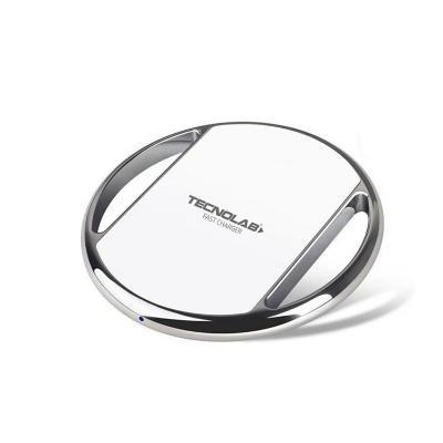 Cargador Rápido Inalámbrico para Smartphone Blanco