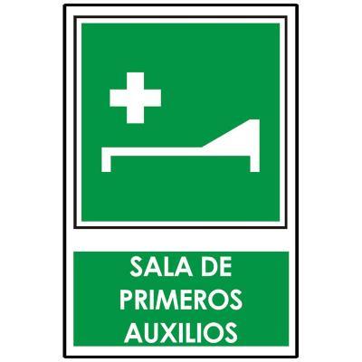 Señalética sala de primeros auxilios