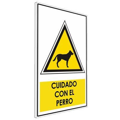 Señalética  Cuidado con el perro