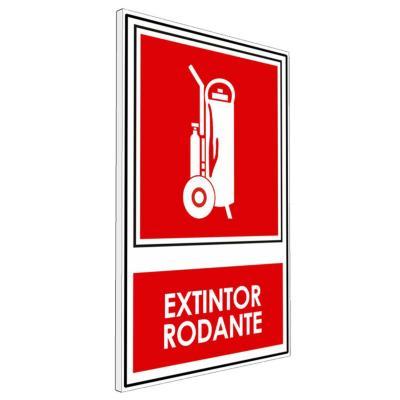 Señalética Extintor Rodante