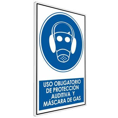 Señalética uso Obligatorio de Protección auditiva