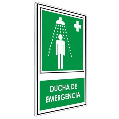 Señalética Ducha de Emergencia