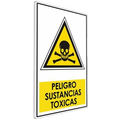 Señalética  Peligro sustancias toxicas