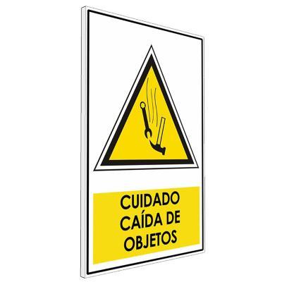 Señalética  Cuidado caído de objetos